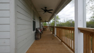Home Remodeling Front Porch View