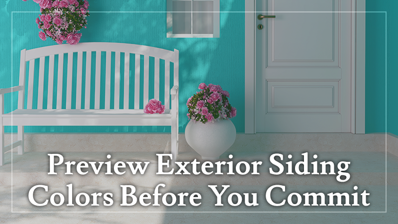 Preview Exterior Siding Colors Before You Commit