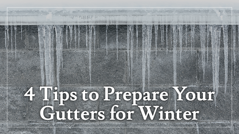 Prepare Your Gutters for Winter
