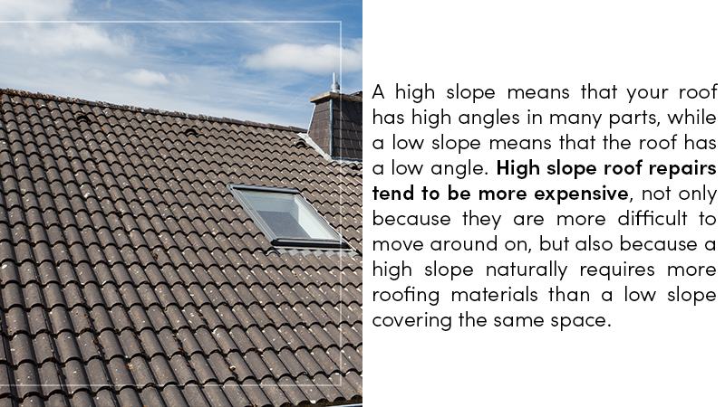 High Slop Roof Repairs