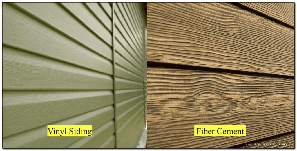 Fiber Cement vs. Vinyl Siding