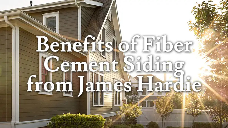 Benefits of Fiber Cement Siding for Homeowners