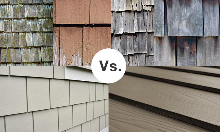 Fiber Cement Siding vs Wood Siding